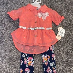 Shirt and leggings brand new with tags